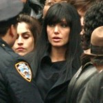 Jolie Shoots Funeral Scene in Movie Salt