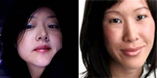 Laura Ling and Euna Kim