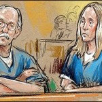 Walter Kendall and Gwendolyn Myers in Court