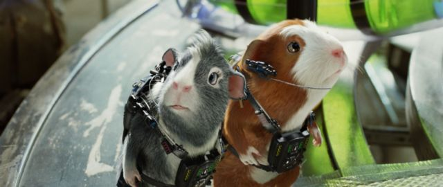 G-Force guinea pig spies in action