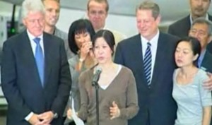 Laura Ling thanks family, friends, Clinton & team