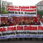 Cuban Five protest