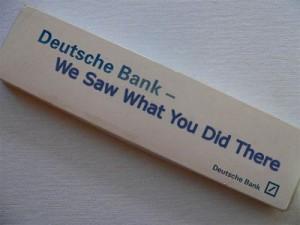 Deutsche Bank spies